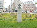 Statuo de Zamenhof en Vieno (fronto).jpg