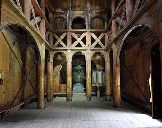 Borgund Stave Church - Interior