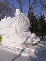 Steam from snow, Harbin International Ice and Snow Sculpture Festival (3238529114).jpg