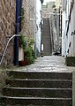 Steep steps up an alley west of Fore Street, St Ives - geograph.org.uk - 1548955.jpg