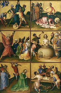 Stefan Lochner German late Gothic style painter (c. 1410–1451)