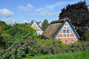 Altes Land - Altes Land: The village Steinkirchen