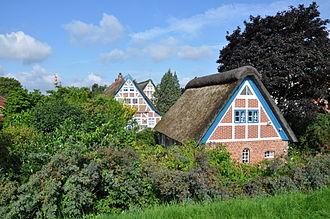 Altes Land - Altes Land: The village Steinkirchen