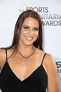 Stephanie McMahon American professional wrestling personality
