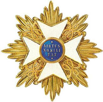 Orders, decorations, and medals of the Netherlands - Grand cross of the Order of the Netherlands Lion.