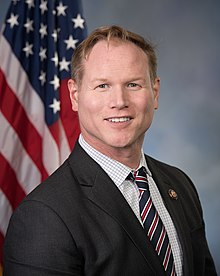 Steve Watkins, official portrait, 116th congress.jpg