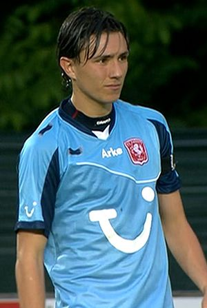 Steven Berghuis - Berghuis pictured during his time at FC Twente.