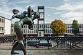 Stevenage Town Centre and Joyride statue.jpg