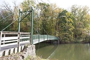 Stewart Park - Bridge in Stewart Park