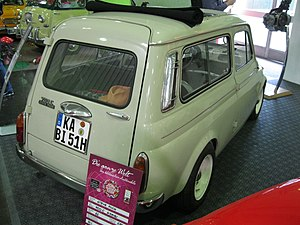 Puch 500 - Puch 700 C estate