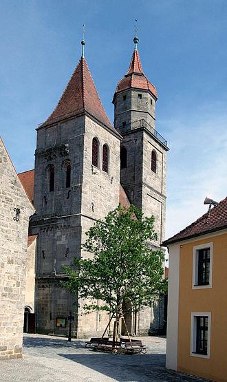 Feuchtwangen - Stiftskirche in Feuchtwangen