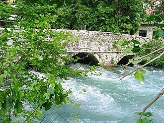 Bregava - Ćuprija bridge on Bregava river