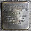 Stolperstein.Hansaviertel.Altonaer Straße 15.Arthur Löwenstein.8691.jpg
