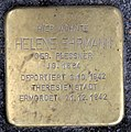 Stolperstein Badstr 64 (Gesbr) Helene Ehrmann.jpg
