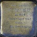 Stolperstein Köln, Hermann Herz (Alteburger Straße 334).jpg