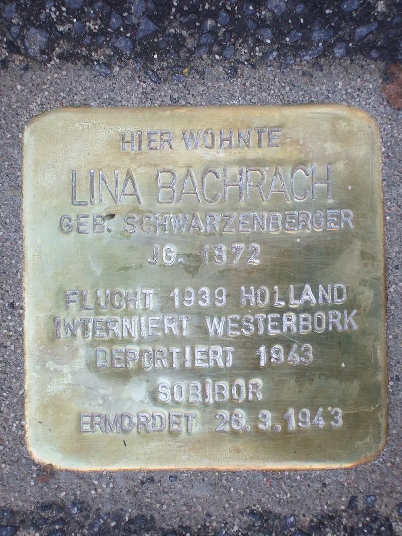 Stolperstein Lina Bachrach.jpg