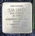 Stolperstein Nassauische Str 7 (Wilmd) Elsa Linder.jpg