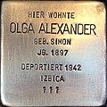Stolperstein Olga Alexander2.jpg