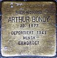 Stolperstein Salzburg, Arthur Bondy (Neutorstraße 20).jpg