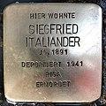 Stolperstein Siegfried Italiander.jpg