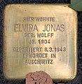 Stolperstein Sigmaringer Str 25 (Wilmd) Elvira Jonas.jpg