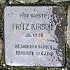 Stolperstein Wassermannstr 69 (Adler) Fritz Kirsch.jpg
