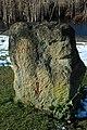 Stone marking Millennium, Willersey - geograph.org.uk - 1723906.jpg