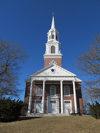 Storrs, Connecticut - Image: Storrs Congregational Church, Storrs CT
