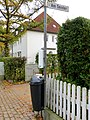 Straßenschild der Straße Am Sender in Flensburg, Bild 3.JPG
