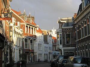 Straatje in Haarlem