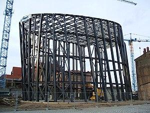Behnisch Architekten - Construction site of the Oceaneum in Stralsund