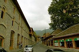 "Street in ""Yukhari-Bash"" Historic-Architectural Reserve in Shaki"