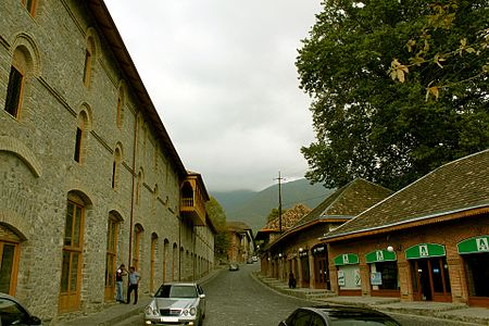 "Street in ""Yukhari-Bash"" Historic-Architectural Reserve in Shaki.JPG"