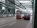 Streetcars on the Queen Street bridge over the Don River, 2014 12 03 (13) (15321404044).jpg
