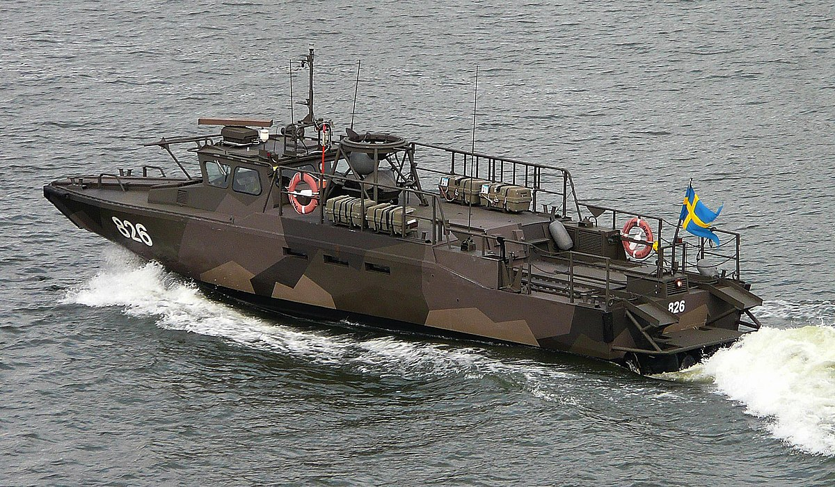 CB90-class fast assault craft - Wikipedia