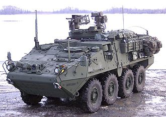 Economy of Ohio - Weapon systems are integrated onto the M1131 Fire Support Vehicle, or Stryker FSV, at the Joint Systems Manufacturing Center in Lima.