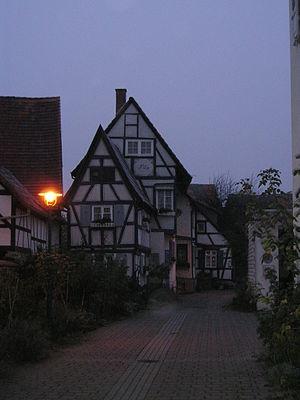 Stutensee - Image: Stutensee Germany Rathausgaessle