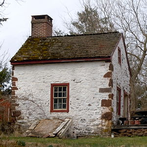 Mordecai Lincoln House (Lorane, Pennsylvania) - Summer kitchen