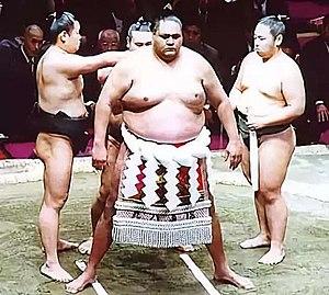 Akebono Tarō - Image: Sumo Akebono
