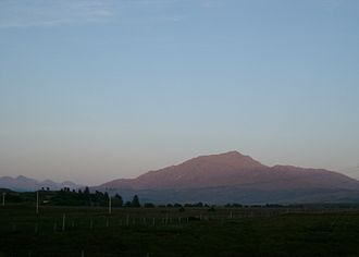 Sunart - Beinn Resipol at sunset
