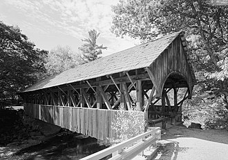 Newry, Maine - Artists' Covered Bridge (built in 1872)