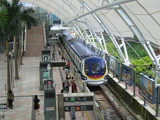 MTR metro line