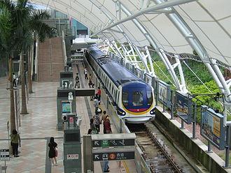 Disneyland Resort line - A Disneyland Resort line train at Sunny Bay station