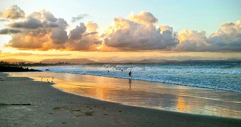 File:Sunrise bliss Byron Bay.jpg