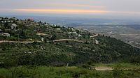 Sunset, Bat Ain, Israel (13994457134).jpg