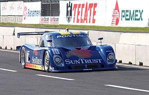 Riley Technologies - The SunTrust Racing Riley-Pontiac Daytona Prototype seen at the Autódromo Hermanos Rodriguez in 2005