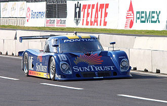 Riley Technologies - The SunTrust Racing Riley-Pontiac Daytona Prototype seen at the Autódromo Hermanos Rodriguez in 2005