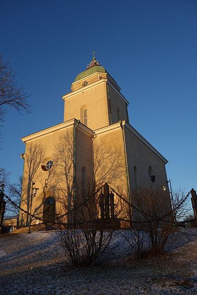 File:Suomenlinna church sunset.JPG