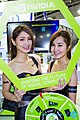 Super Micro Computer promotional models at Computex 20140606b.jpg