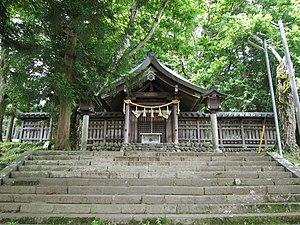 Suwa taisha - Image: Suwa Taisha Maemiya Honden